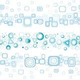 Seamless horizon background Stock Image