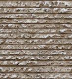 Seamless horizontal line cement plaster texture Stock Photos