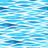 Seamless horizontal sea background Stock Photos