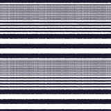 Seamless horizontal stripes fabric pattern Royalty Free Stock Photo