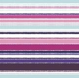 Seamless horizontal stripes pattern Stock Image