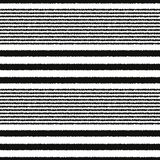 Seamless horizontal stripes pattern Stock Images