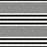 Seamless horizontal stripes pattern Stock Images