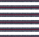 Seamless horizontal stripes pattern Royalty Free Stock Images