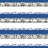Seamless horizontal stripes pattern Stock Photo
