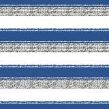 Seamless horizontal stripes pattern Stock Photo