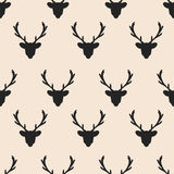Seamless horn pattern Royalty Free Stock Photography