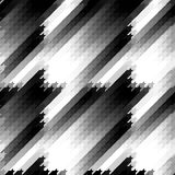 Seamless Hounds-tooth pattern Stock Photography