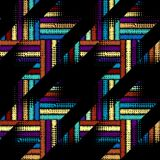 Seamless Hounds-tooth pattern Royalty Free Stock Photos