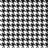Seamless houndstooth pattern. Stock Photos
