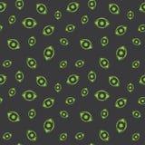 Seamless Human Eye Art Pattern Stock Images