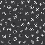 Seamless Human Eye Pattern Royalty Free Stock Photo