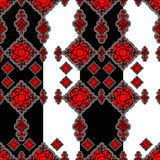 Seamless Hun Pattern Stock Photos