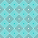 Seamless hypnotic concentric squares pattern. Blue grid with squares inside squares seamless background. Hypnotic effect Royalty Free Stock Photography