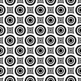 Seamless hypnotic pattern. Royalty Free Stock Image