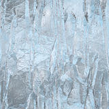 Seamless ice texture, winter background Stock Images
