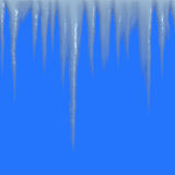 Seamless Icicles Royalty Free Stock Photos