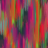Seamless Ikat Pattern. Stock Photography