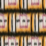 Seamless Ikat Pattern Stock Photos