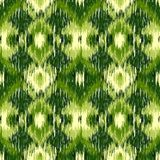 Seamless Ikat Pattern. Abstract  background. For textile design, wallpaper, surface textures, wrapping paper Stock Photo