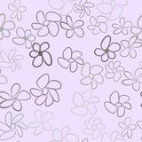 Seamless illustrations of flower. Concept, repeat, digital & art. Seamless illustrations of flower. Good for web page, wallpaper, graphic design, catalog royalty free illustration