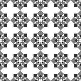 Seamless image of geometric shapes. royalty free illustration