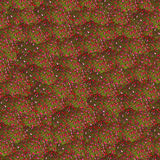 Seamless impatiens pattern royalty free stock image