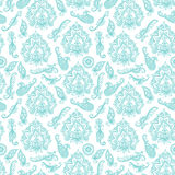 Seamless indian pattern based on traditional Asian elements Paisley Royalty Free Stock Photos