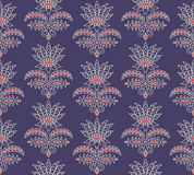 Seamless indian pattern Stock Photo