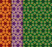 Seamless Indian Patterns Stock Images