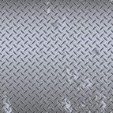 Seamless industrial diamond plate Royalty Free Stock Image
