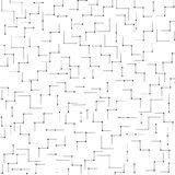 Seamless industrial linear pattern vector Stock Photography