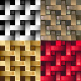 Seamless industrial pattern Royalty Free Stock Images