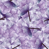 Seamless infinite  floral blue-purple background. For design and printing. Background of natural  tulips. Wall-papers. Nayure Stock Photo