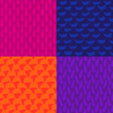 Seamless ink and brush pattern Royalty Free Stock Images