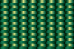 Seamless inlay of the brilliant green semirings Royalty Free Stock Photo