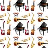Seamless instrument Royalty Free Stock Photos