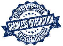 Seamless integration stamp Royalty Free Stock Photo