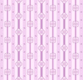 Seamless interior pattern Stock Photo