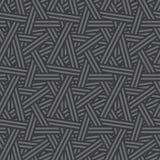 Seamless Interweaving Lines Pattern Royalty Free Stock Photo