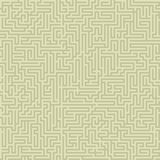 Seamless intricate maze Stock Images