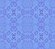 Seamless intricate ornaments light blue purple Royalty Free Stock Photography