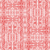 Seamless intricate ornaments pink pastel red Stock Photos