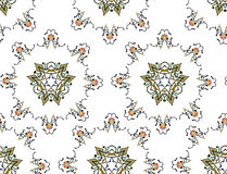 Seamless Irani Design Pattern Stock Photos