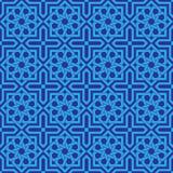 Seamless Islamic Ornament Geometric Art stock illustration