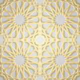 Seamless islamic pattern 3d . Traditional Arabic design element. Seamless islamic pattern 3d . Traditional Arabic design Royalty Free Stock Images