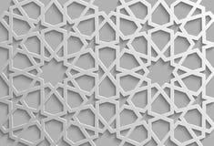 Seamless islamic pattern 3d . Traditional Arabic design element. Seamless islamic pattern 3d . Traditional Arabic design Royalty Free Stock Photo