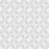 Seamless of isolated lines in form of angle squares on a white background Stock Photo