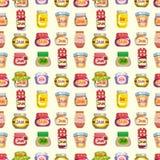 Seamless jam pattern. Vector,illustration Stock Photos