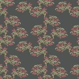 Seamless japanese blossom wallpaper. Seamless japanese plum blossom wallpaper pattern Royalty Free Stock Photos